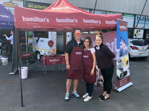 Northriding-Mica-Paint-Centre-Grand-Opening-9-Nov-2019---The-Hamilton's-Brushware-Team